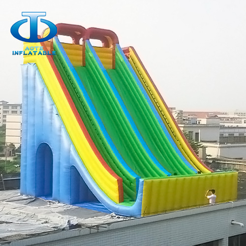 Inflatable Water Slides For Sale: 12m Inflatable Slide For Sale-Inflatable Slide And Bouncer