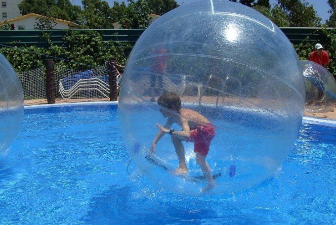 Water Polo Ball Water Walking Ball Water Ball Aote Inflatable Water Ball Sports Entertainment