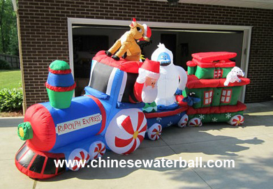 inflatable train for christmascch 028 model
