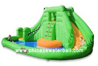 inflatable pool slidecws 001 model 3 - Inflatable Pool Slide