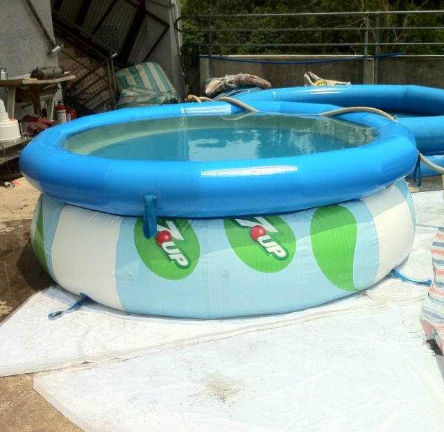 inflatable swimming pool, swimming pool factory supply PVC ...