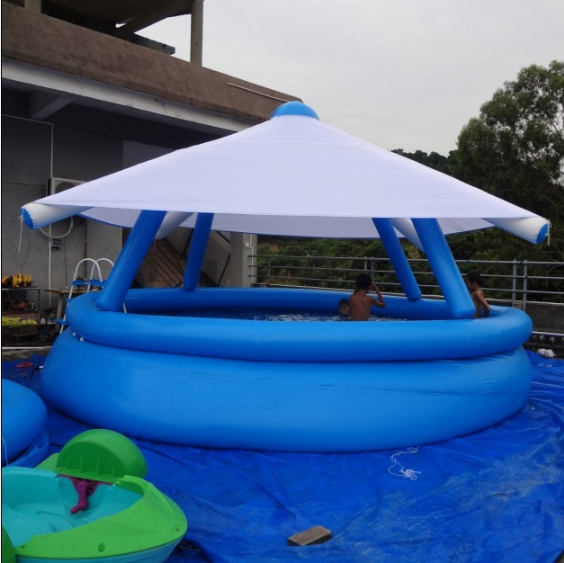 Inflatable Pool With Sunroof